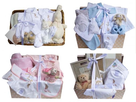 canastillas de regalo para bebés