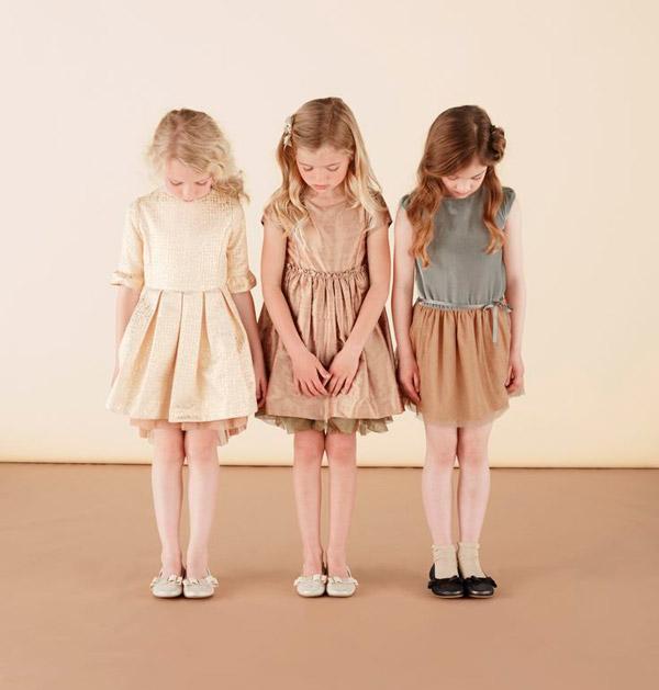 Marie Chantal vestidos para niñas