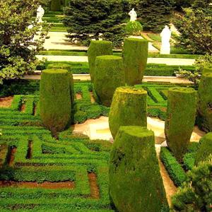 Paseo con niños. Los Jardines Reales del Campo del Moro. Madrid ...