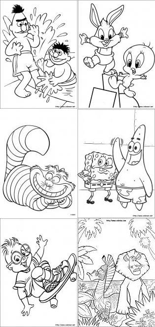 Colorearnet Cientos De Dibujos Para Imprimir Y Colorear