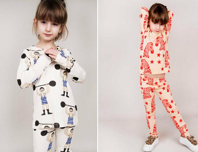 pijamas minirodini