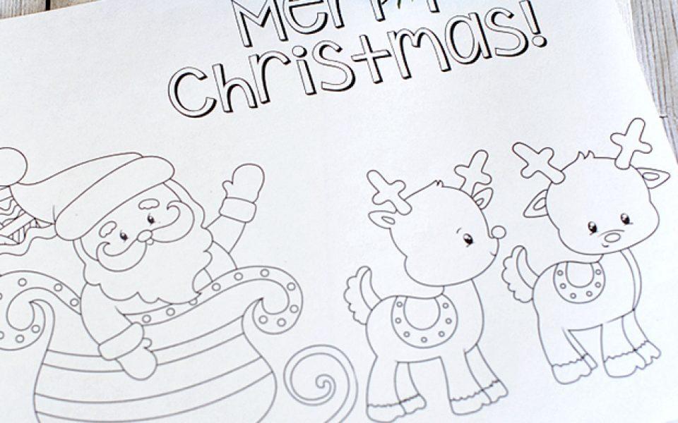 Dibujos De Navidad Para Imprimir Y Colorear Charhadas