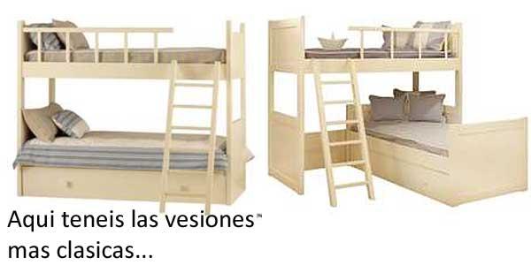 Literas en los dormitorios infantiles vtv nos muestra las - Literas lacadas en blanco ...