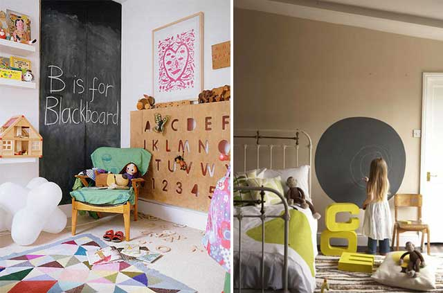 Ideas para decorar dormitorios infantiles: Pizarra!!! - CharHadas