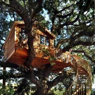 Casa árbol en Italia