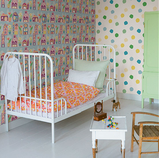 Papeles pintados para dormitorios infantiles charhadas - Papeles pintados dormitorios ...