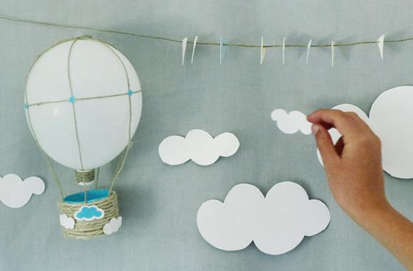 Manualidades con globos y cartón