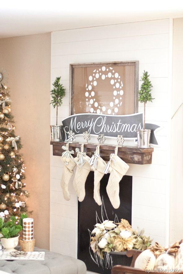 Como Decorar Calcetines Para Navidad.Decorar Con Calcetines De Navidad Charhadas