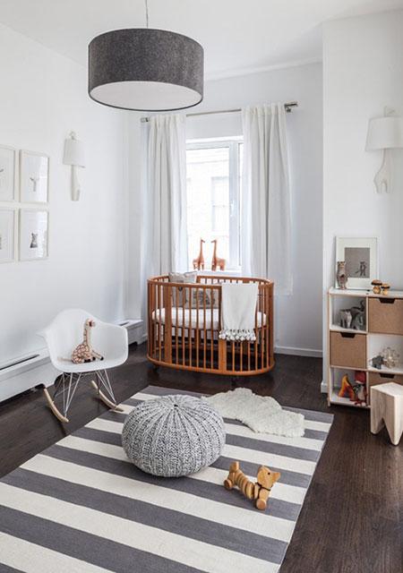 Top 7 estilos de diseño aplicados a cuartos de bebé - CharHadas