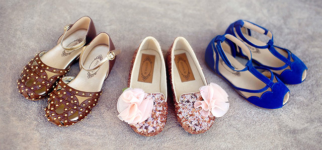 4a942c539 Zapatos originales para niñas - CharHadas