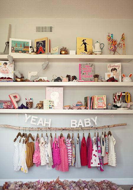 Un cuarto de bebé muy femenino - CharHadas