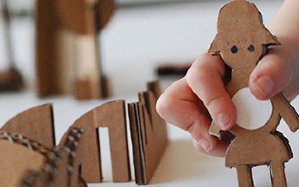 De Creación Cartón Juguetes Taller Charhadas 5RLA34jq
