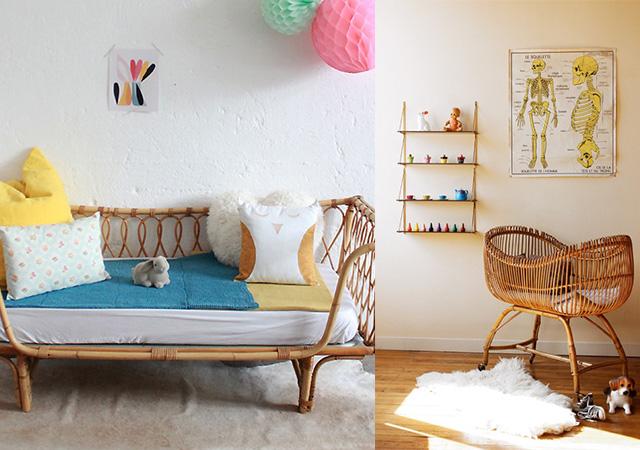 Estilo vintage para el cuarto del bebé - CharHadas