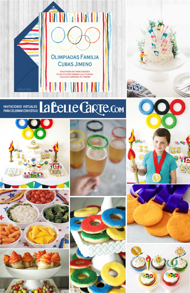 Invitaciones de cumplea os e ideas para celebrar una - Ideas para cumpleanos infantiles ...