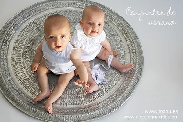 Conjuntos de verano para bebés