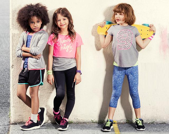 tienda de descuento marcas reconocidas auténtica venta caliente Vuelta al deporte con H&M kids - CharHadas