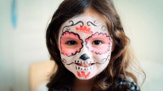 Videos De Maquillaje De Halloween.Maquillaje De Halloween En Video Calavera Mexicana Con Flor Charhadas