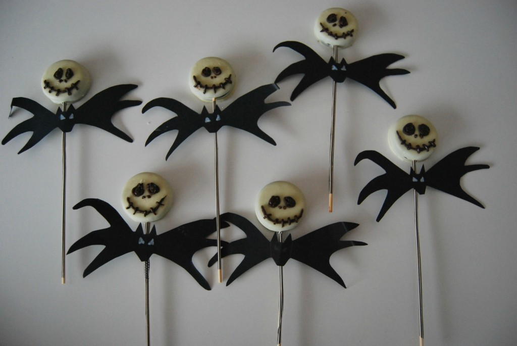 jack skellington lolly pop