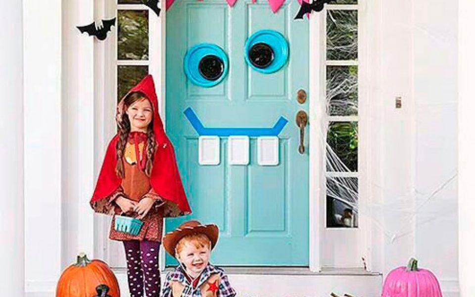 Ideas De Decoración Para Halloween Decora Tus Puertas