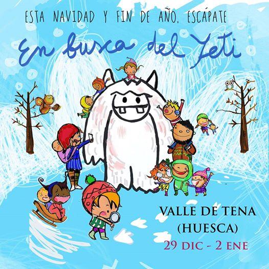 navidad esqui con niños