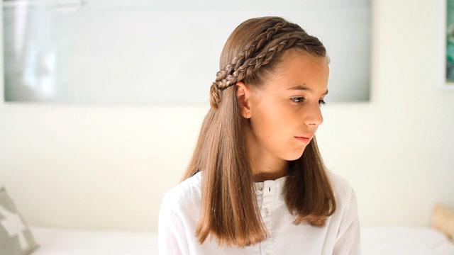 Peinado Con Trenzas De Raiz Para Ninas En Video Charhadas