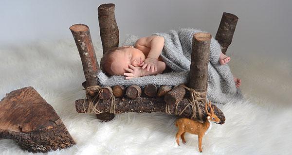 Fotografía bebé Recién Nacido Atrezzo Sesiones fotos
