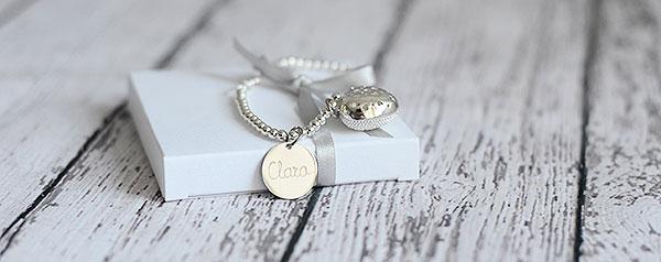 pulsera-enamorados-corazon-strass joyas personalizadas regalos