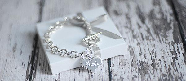 Pulsera-san-valentin-personalizada joyas regalos enamorados