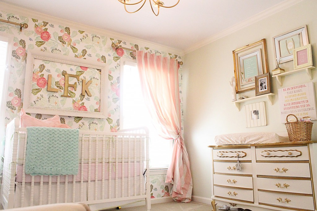 Dormitorios de bebes con glamour 19