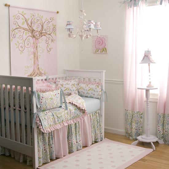 Dormitorios de bebes con glamour 6