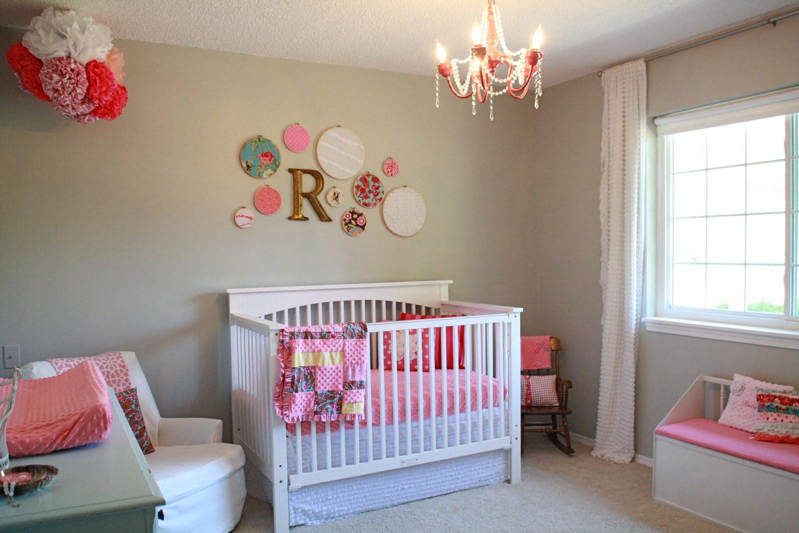 Dormitorios de bebes con glamour 1