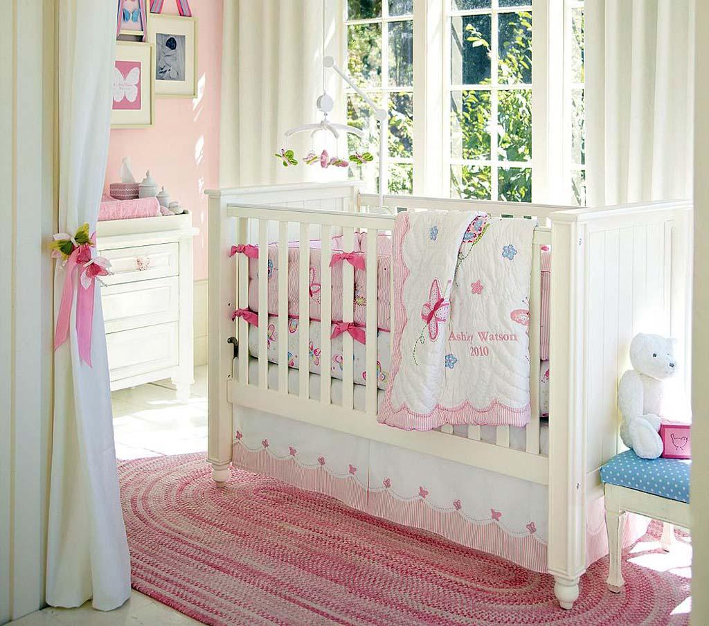 Dormitorios de bebes con glamour 9