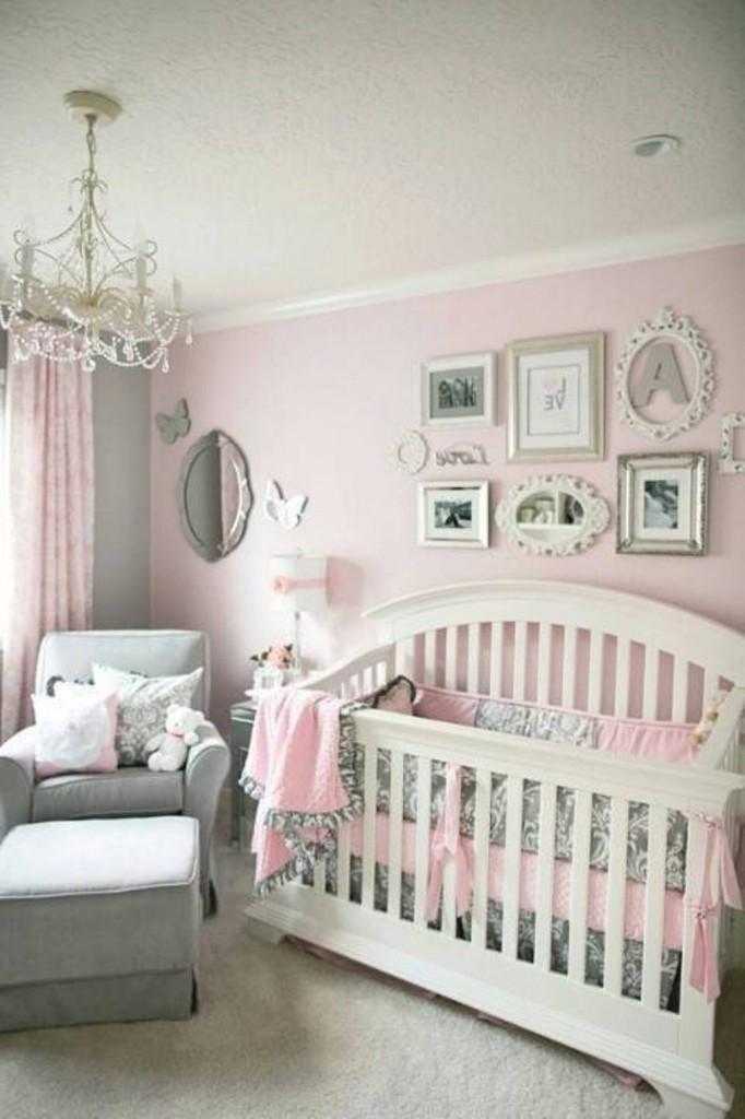 Dormitorios de bebes con glamour 2