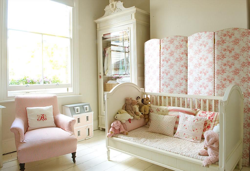Dormitorios de bebes con glamour 17