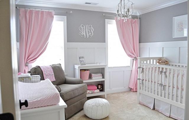 Dormitorios de bebes con glamour 14