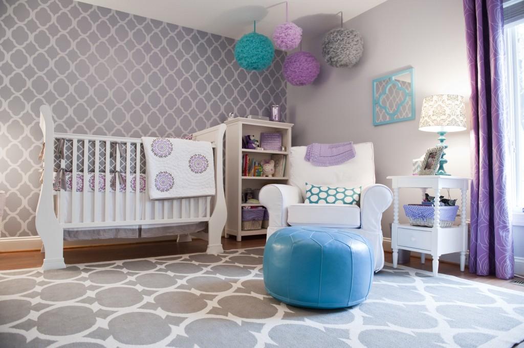Dormitorios de bebes con glamour 10