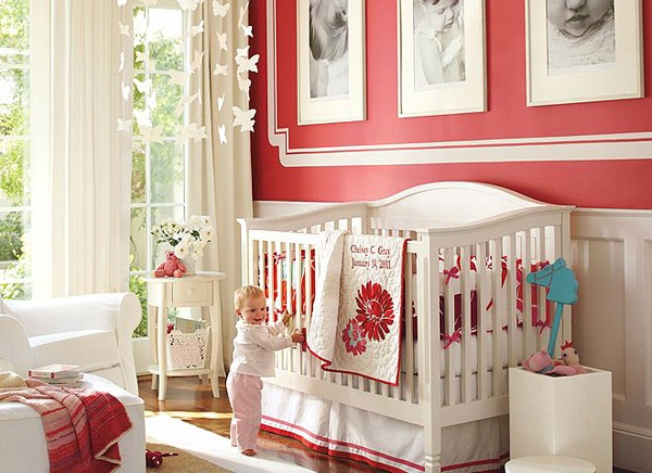 Dormitorios de bebes con glamour 8