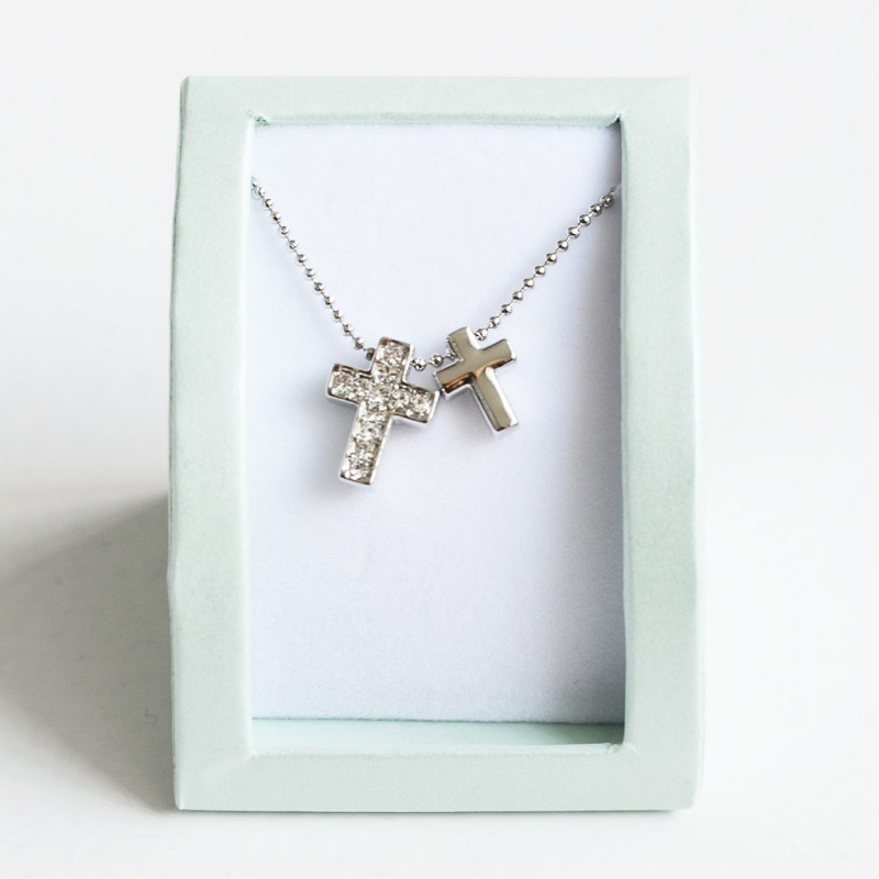 Collar cruces regalos Primera Comunión Limonae joyas cruz