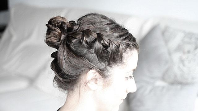 Peinados Con Trenzas Para Pelo Corto Charhadas