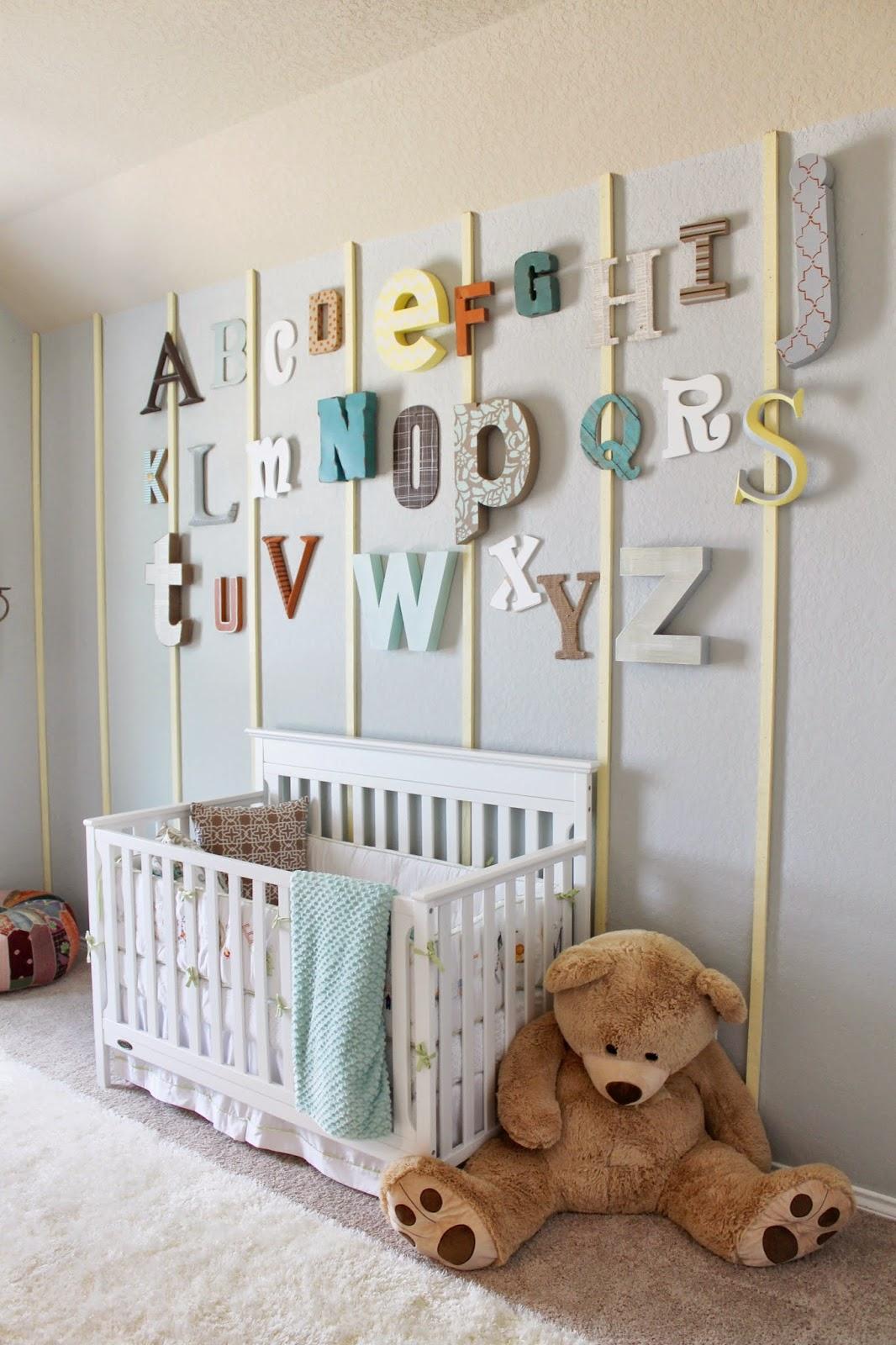 Letras de madera abecedario 1