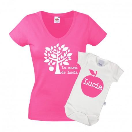 Camisetas personalizadas bodys madres Día de la madre regalos originales personalizados Limonae