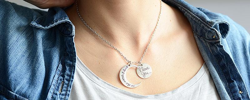 collar Día Madre regalo love colgante