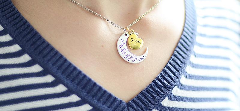 collar madre personalizado regalo Día Madre