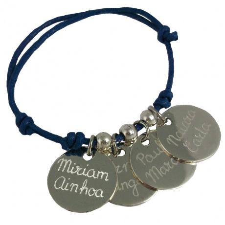 pulsera medalla joyas grabadas regalos profesoras