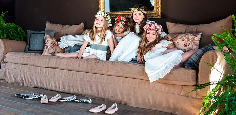 Bailarinas zapatos niñas Comunión Quiero unas bobos Bautizo y Comunión