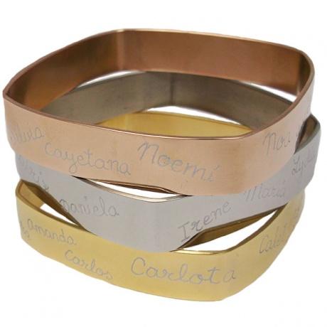 brazalete profesoras regalos El Recién Nacido joyas personalizadas