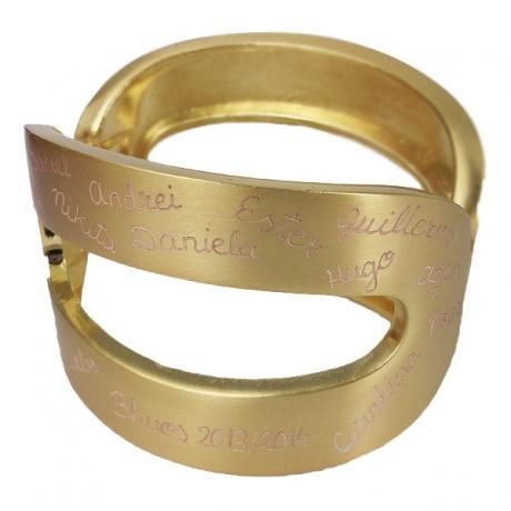 brazalete regalo profesoras joyas personalizadas El Recién Nacido