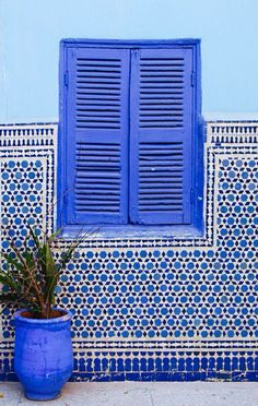 pared marroqí mosaico