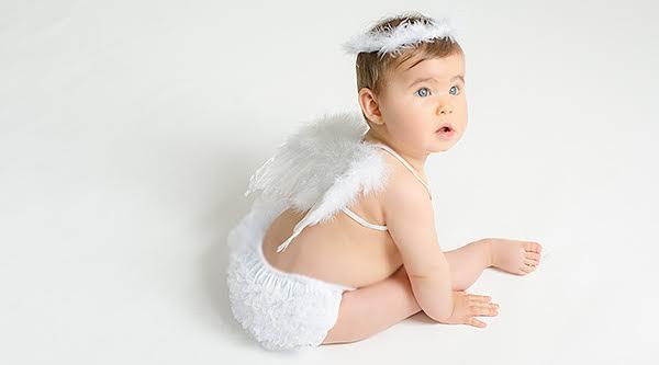 Disfraces bebés recién nacidos angeles atrezzo ropa bebé sesiones fotos El Recién Nacido