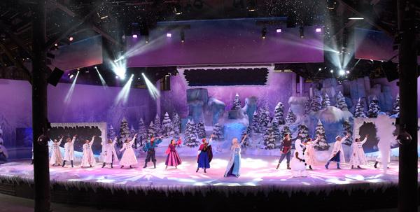 Verano Frozen en Disneyland París